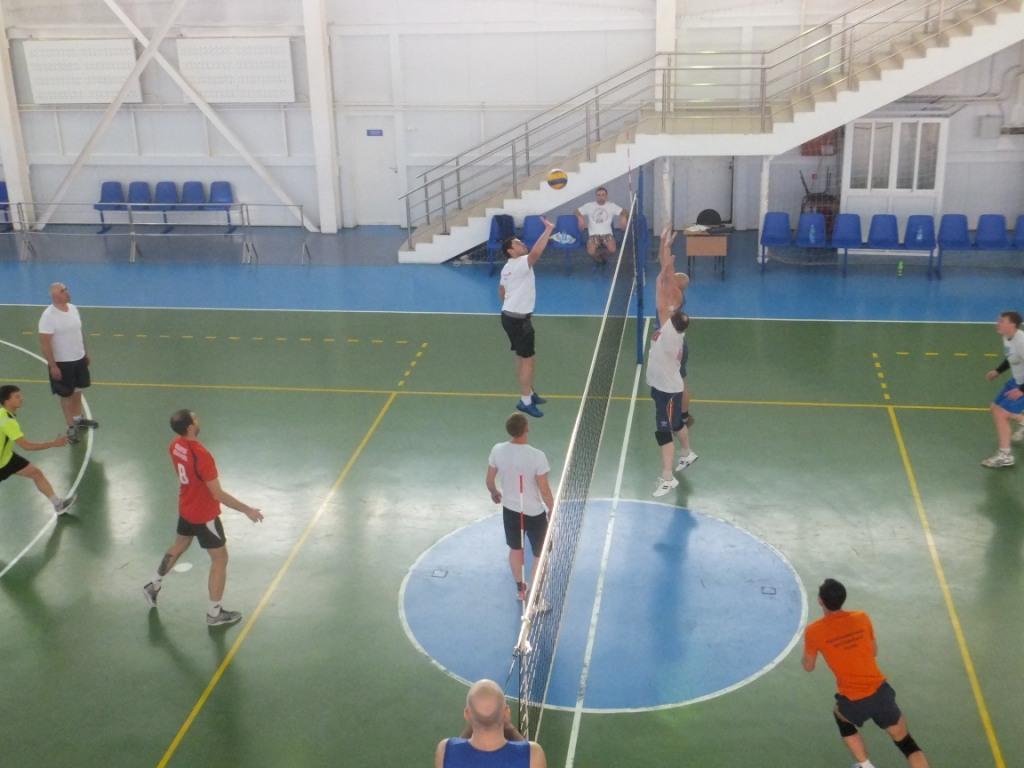Дерби по Волейболу в ПЧ-3