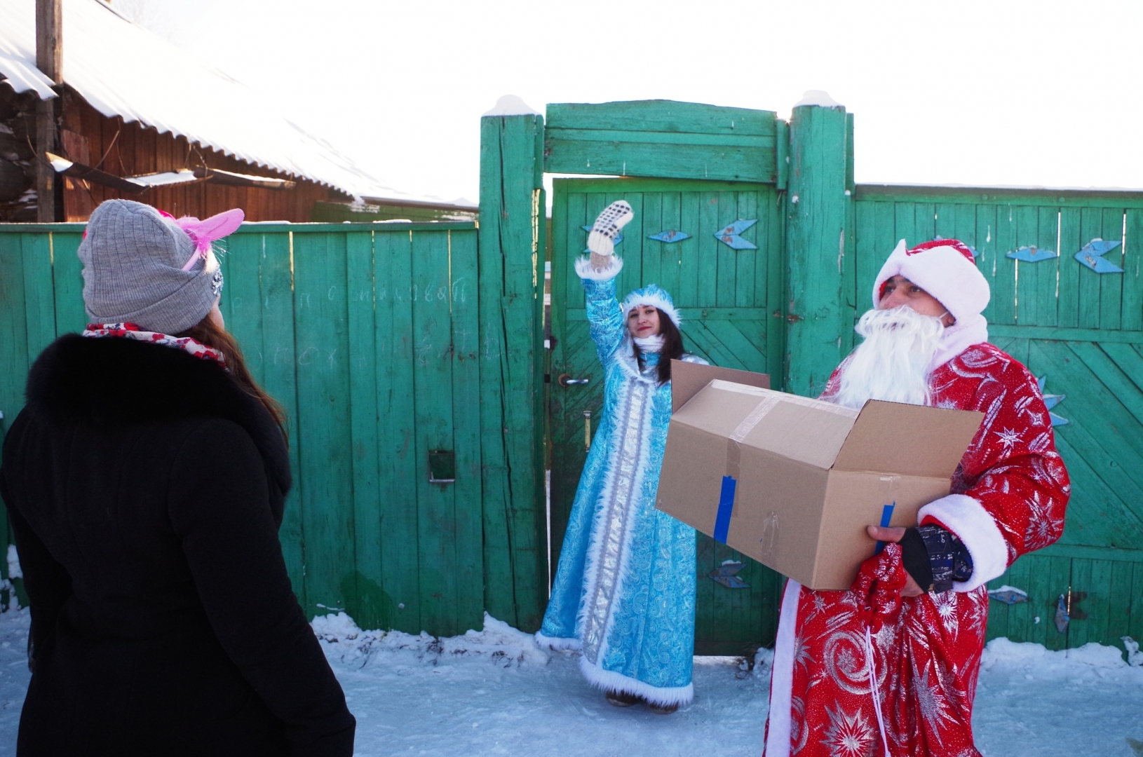 Социальная  акция «Дарить добро просто», Иланский, декабрь 2018