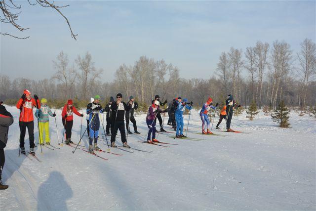 Гонки на лыжах в Абакане 25 января 2020