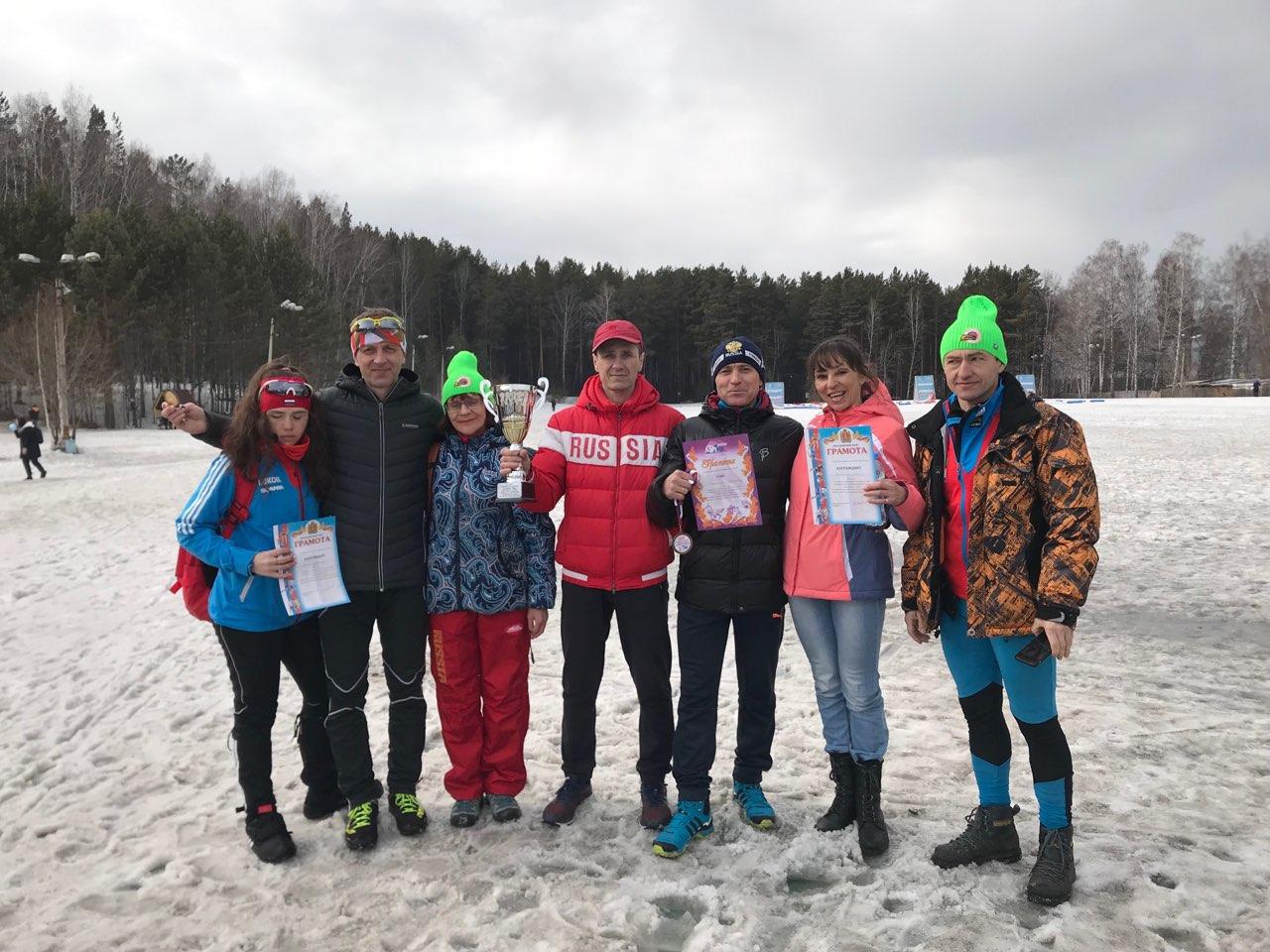 XVIII Спартакиада трудящихся. Лыжные гонки 16 марта 2019