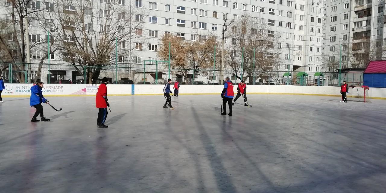 Чемпионат по хоккею среди работников ТЧЭ-2 24 февраля 2019