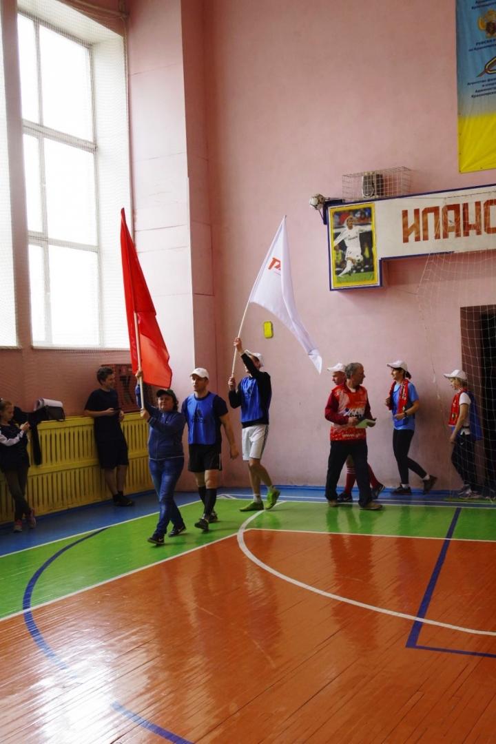 Узловой этап всероссийских игр «Спорт поколений» на ст.Иланская 22 мая 2021