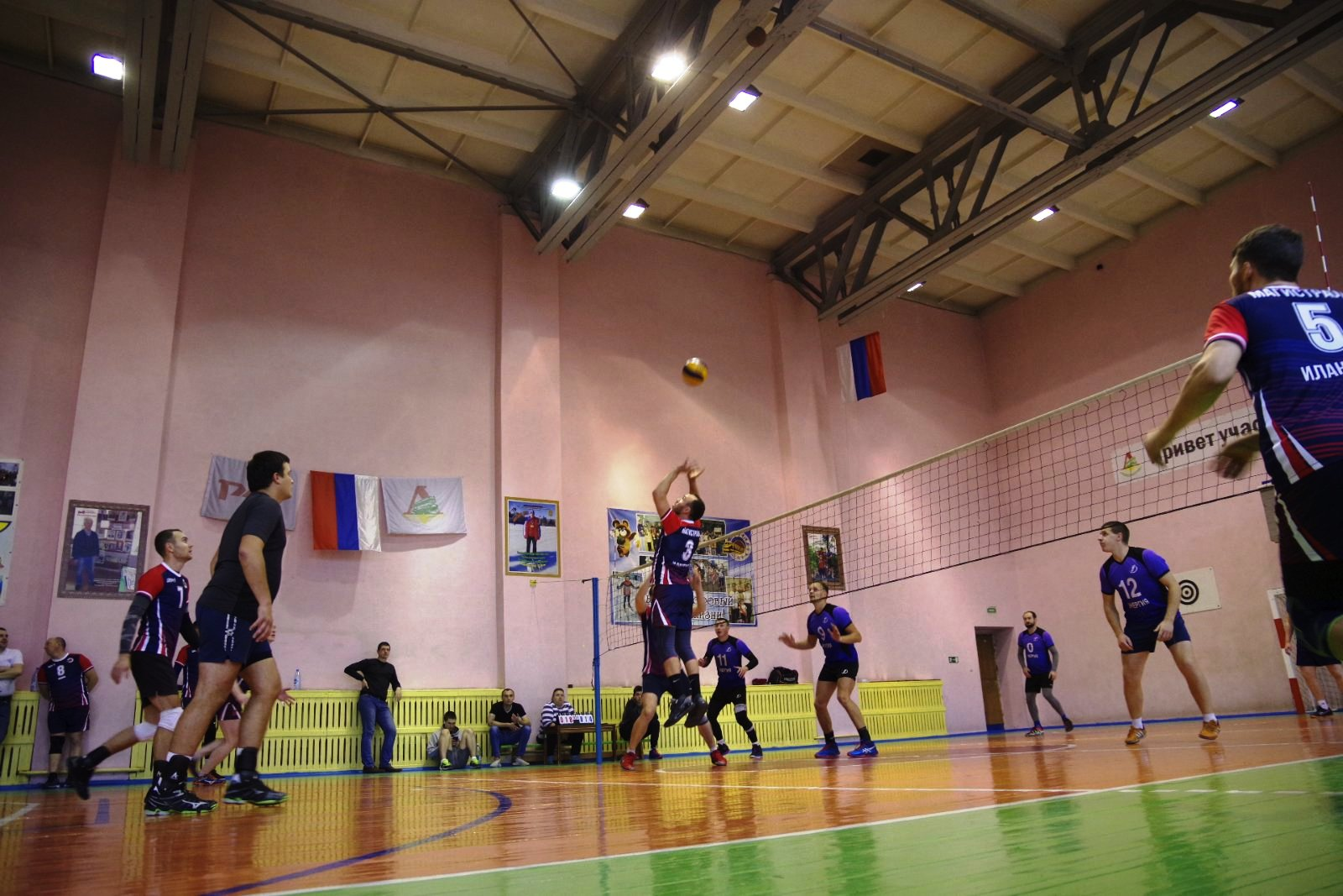 Тридцатый открытый турнир ПЧ-5 по волейболу 24 октября 2020