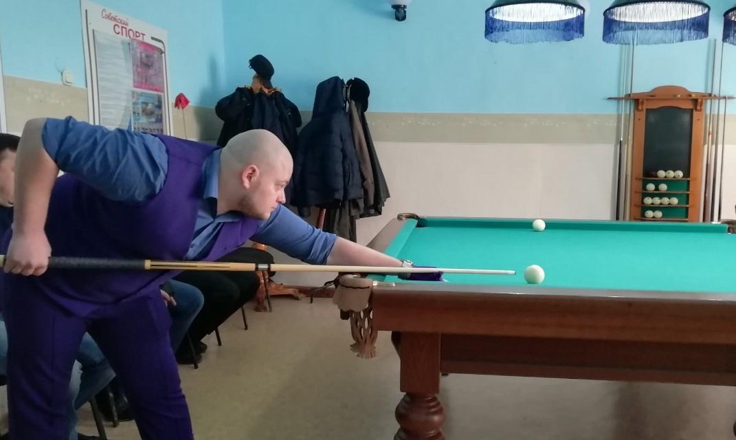 Турнир по бильярду памяти машиниста Николая Головнина 16 марта 2019