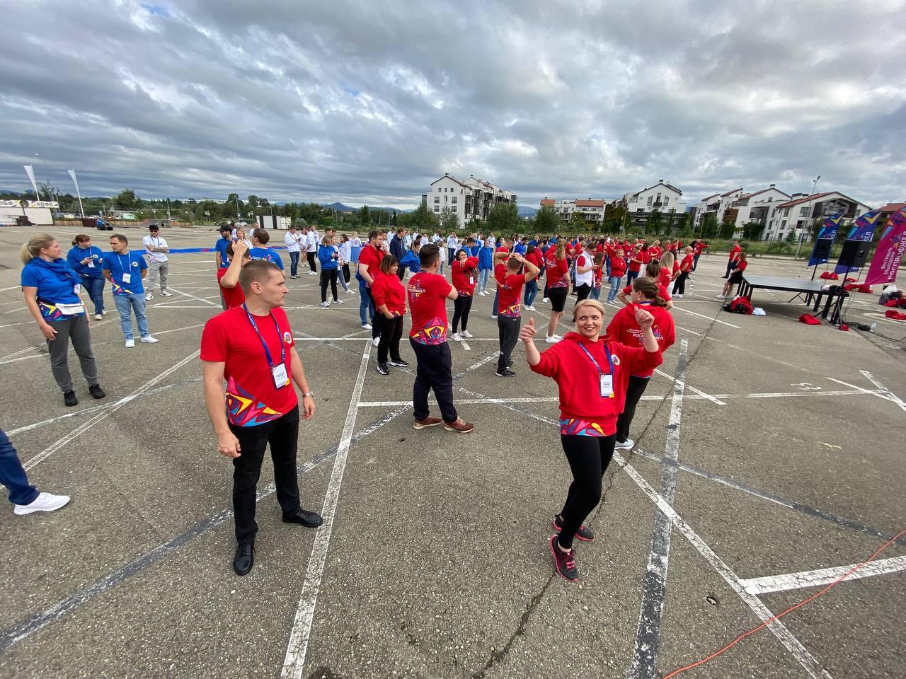 Молодежный совет на Фестивале молодежи в Сочи сентябрь-октябрь 2021
