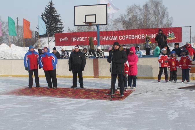 Чемпионат работников железнодорожного транспорта Красноярской железной дороги по хоккею с шайбой 17 февраля 2018