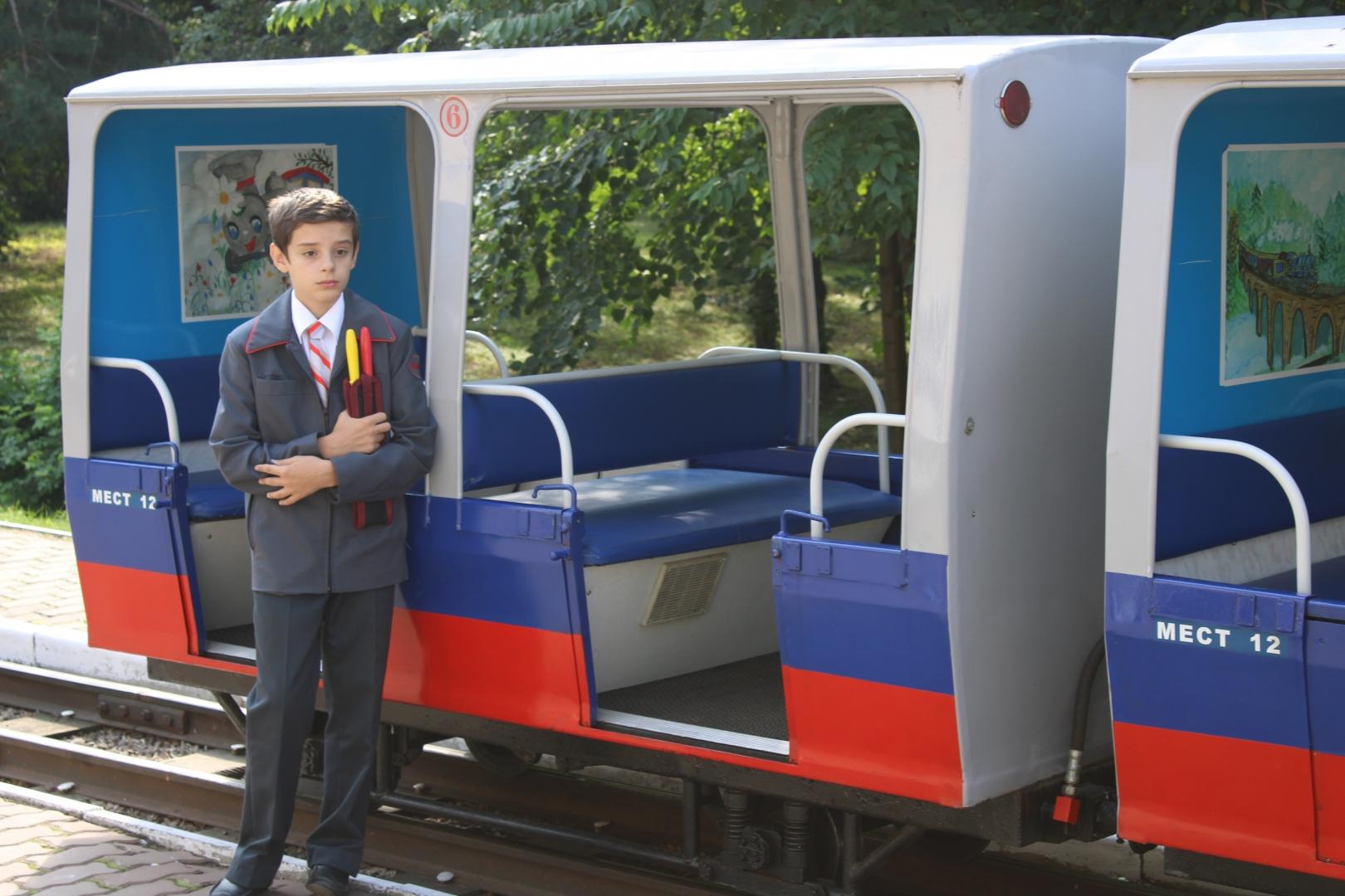 Конкурс «Лучший по профессии» на детской железной дороге 15 августа 2019
