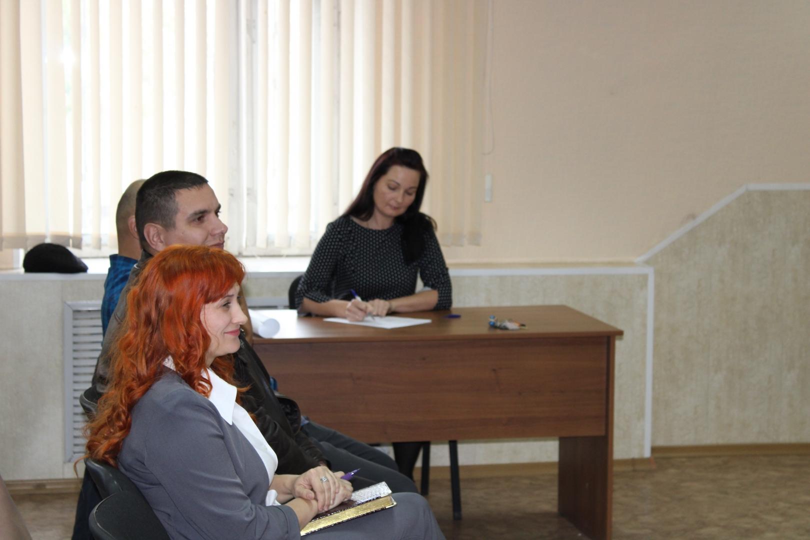 Отчетно-выборное собрание на Решотинском шпалопропиточном заводе 17 октября 2019