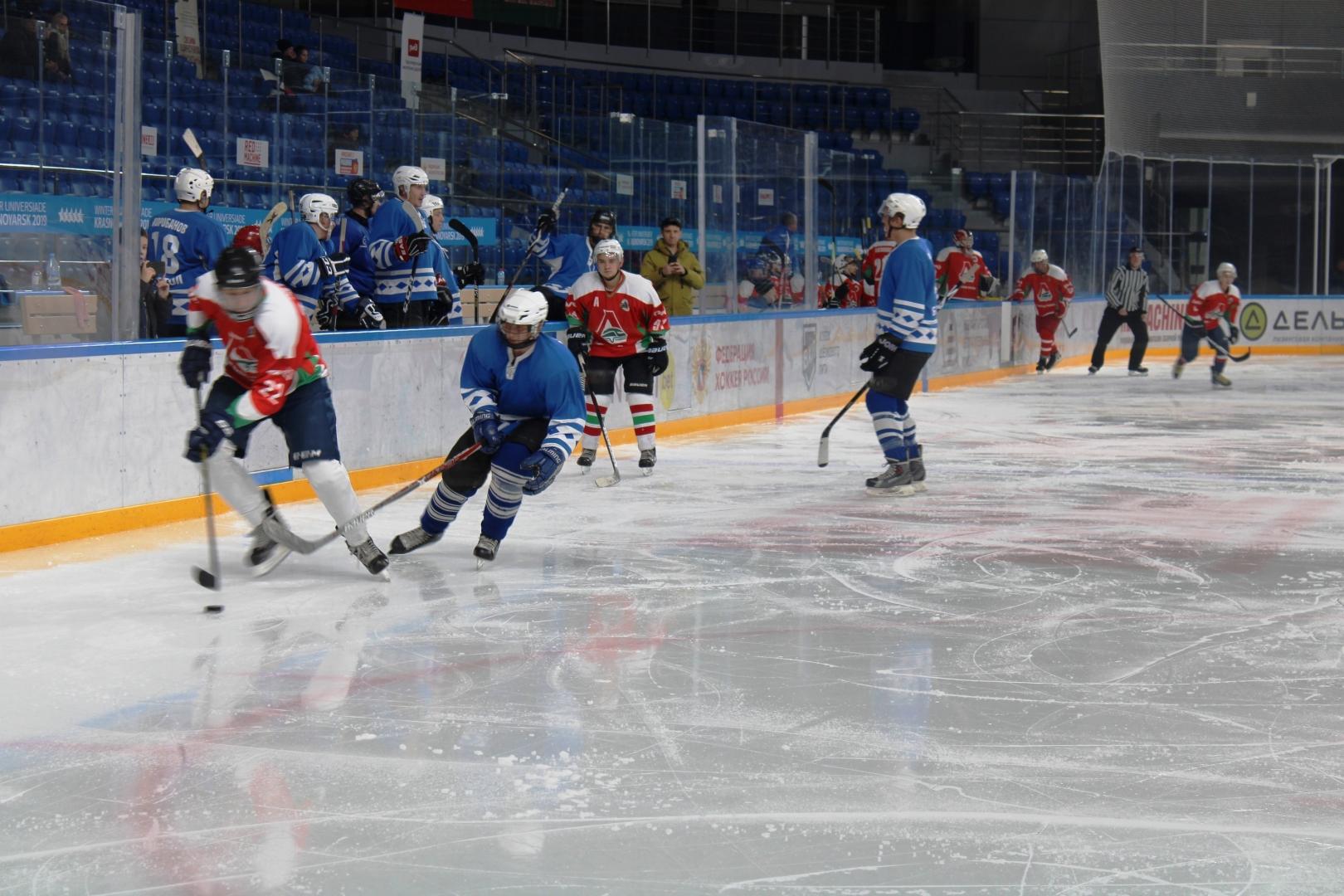 Кубок председателя Дорпрофжел на Красноярской железной дороге по хоккею с шайбой 1-2 ноября 2019