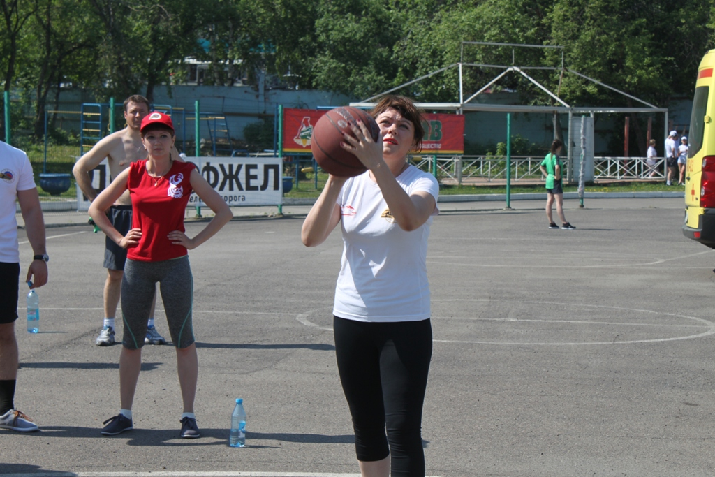 Второй этап 1го узлового уровня Международных Игр «Спорт поколений - 2016»