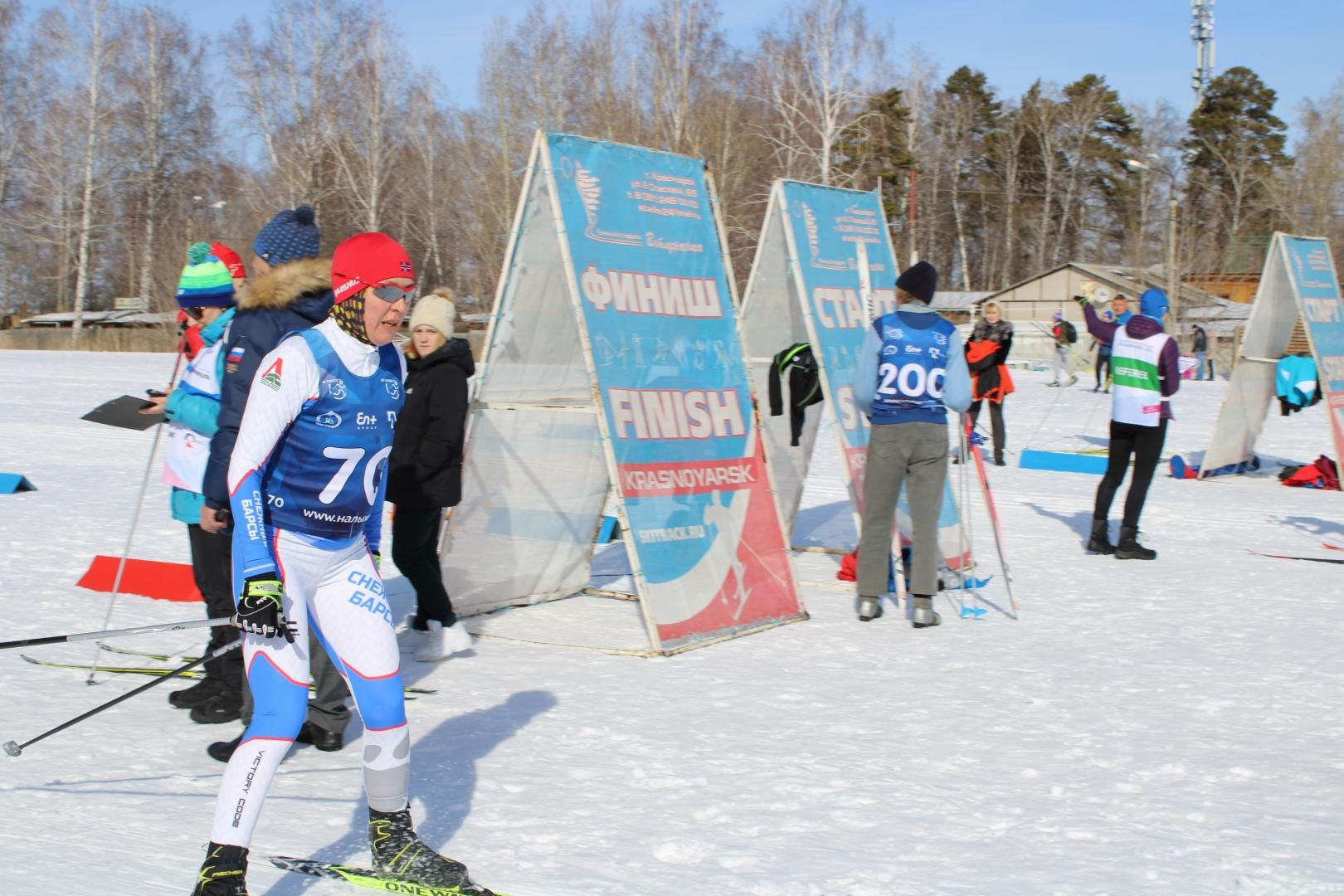 XIX Спартакиада трудящихся. Лыжные гонки 14 марта 2020