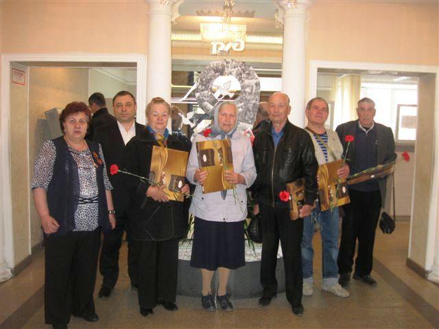 В эксплуатационном локомотивном депо Ачинск поздравили ветеранов и тружеников тыла 8-9 мая 2019