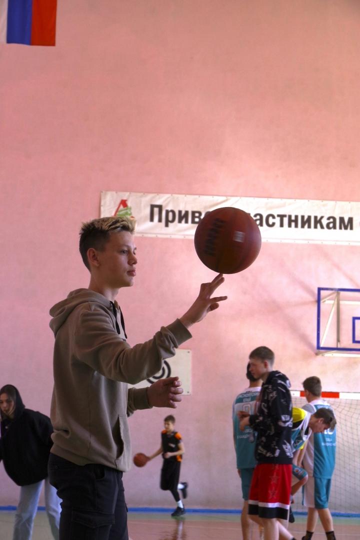 Турнир по баскетболу на ст.Иланская 10 апреля 2021