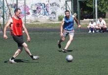 Турнир по мини-футболу в Красноярской дистанции пути