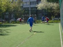 Соревнования по мини-футболу в Красноярской дистанции пути