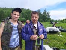 Сплавы,организованные профкомом эксплуатационного локомотивного депо Красноярск-Главный июль 2019