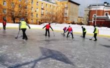 Турнир по хоккею с мячом и закрытие зимнего сезона коллективом ТЧЭ-2 14 марта 2021