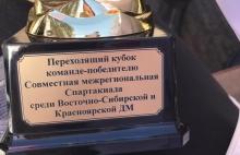 Межрегиональная Спартакиада среди Восточно-Сибирской и Красноярской дирекций по управлению терминально - складским комплексом