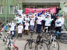Велопробег, посвящённый 45-летию начала строительства БАМа 18 мая 2019 (Ачинск)