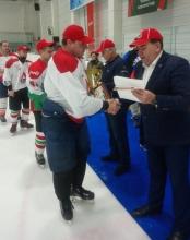 Кубок председателя Дорпрофжел на Красноярской железной дороге по хоккею с шайбой 10 октября 2020