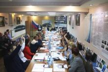 Отчётно-выборная конференция в ОППО Красноярской дирекции по ремонту пути 21 декабря 2018