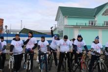 Велопробег, посвящённый 45-летию начала строительства БАМа 21 апреля 2019 (Боготол)