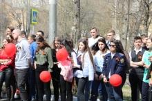 Митинг в КрИЖТ, посвященный 74-й годовщине Победы, 6 мая 2019