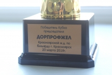 Турнир по бильярду на Кубок председателя Дорпрофжел 20-23 марта 2018