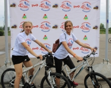 Велопробег, посвящённый 45-летию начала строительства БАМа 31 августа 2019 (Красноярск)