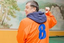 Спартакиада для ветеранов в эксплуатационном локомотивном депо Красноярск-Главный 31 октября 2019