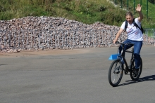 Велопробег, посвященный 85-летию ОО РФСО «Локомотив», 28 августа 2021 (Красноярск)