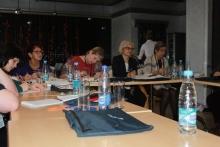 Семинар председателей и профактива в городе Ачинске.