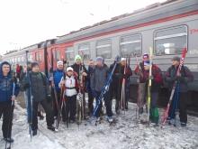 Лыжный поход  «Кача – Дивногорск» 17 марта 2018