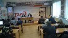 Выездное заседание Президиума Дорпрофжел в Боготоле