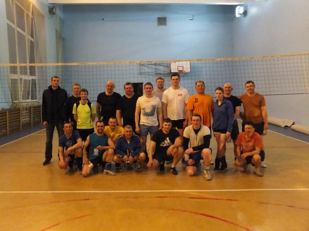Волейбольное дерби в Красноярской дистанции пути