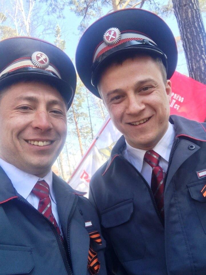День Победы на полигоне Красноярской железной дороги 9 мая 2018
