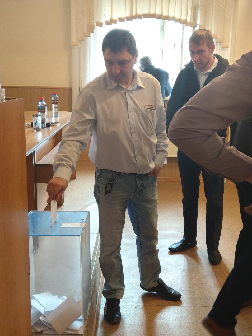 Учредительная профсоюзная конференция в Красноярской и Базаихской механизированных дистанциях инфраструктуры 18 апреля 2018