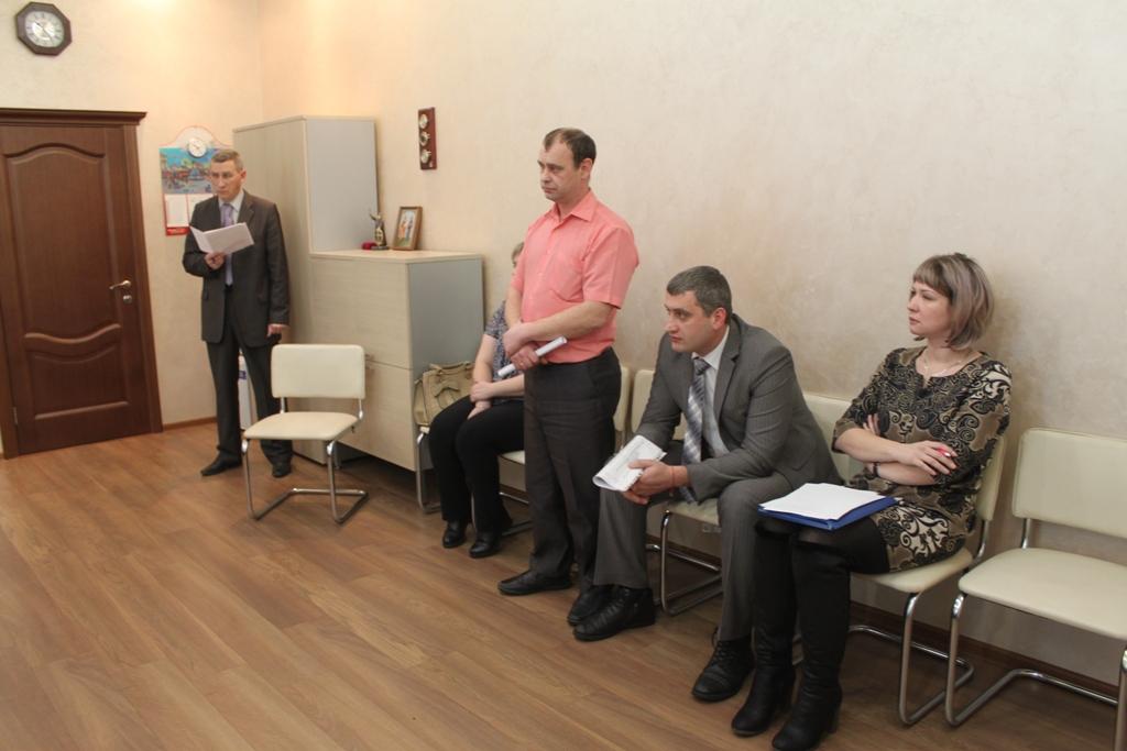 Заседание Президиума Дорпрофжел