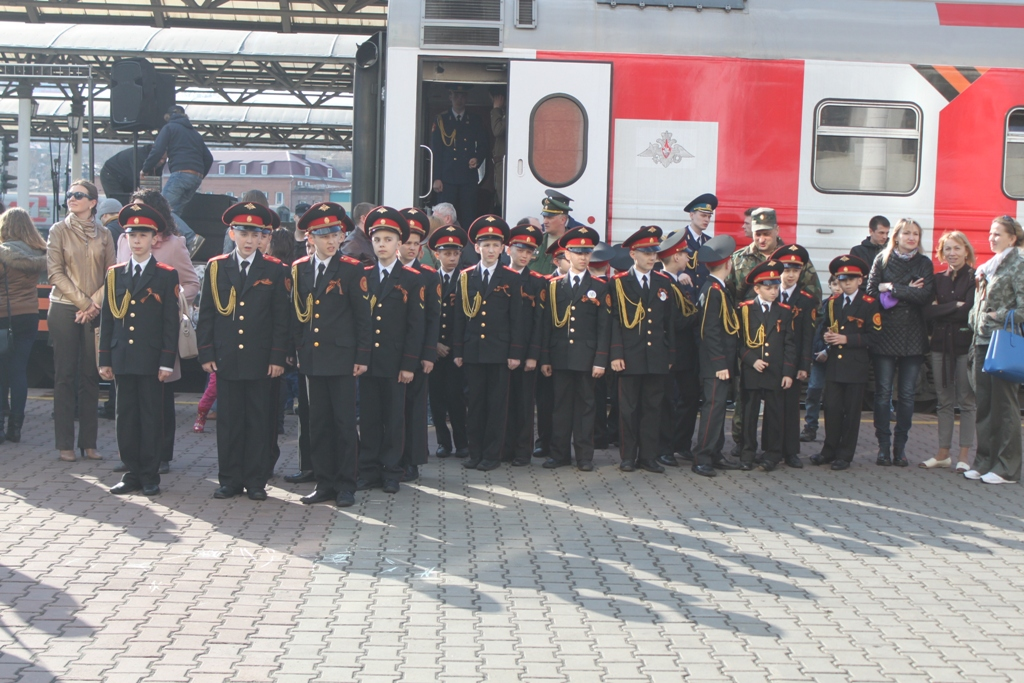 «Агитпоезд — Армия Победы»