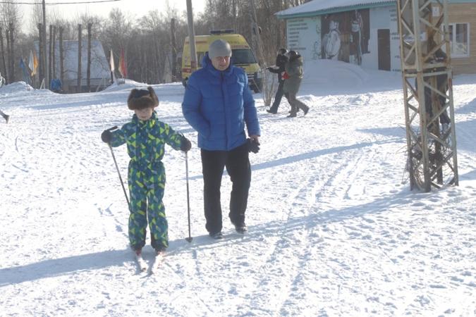 Чемпионат работников железнодорожного транспорта Красноярской железной дороги по лыжным гонкам 10 февраля 2018