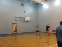 Соревнования по волейболу ПЧ-3