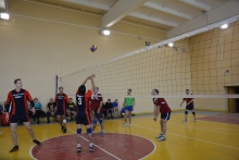 Турнир по волейболу памяти машиниста локомотивного депо Абакан Владимира Гологрудова